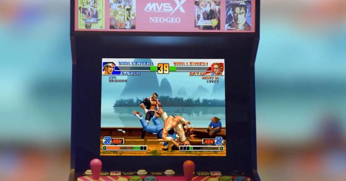 話題のSNKの筐体型ゲーム機「MVSX HOME ARCADE」がSNK ONLINE SHOPで予約受付開始!