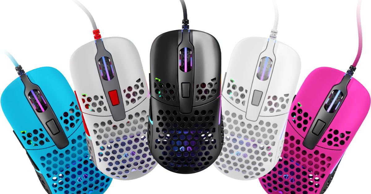 ゲーミングデバイスメーカーXtrfyから超軽量かつ左右対称のゲーミングマウス「M42 RGB」が発売!シェル交換によるサイズ調整も可能!