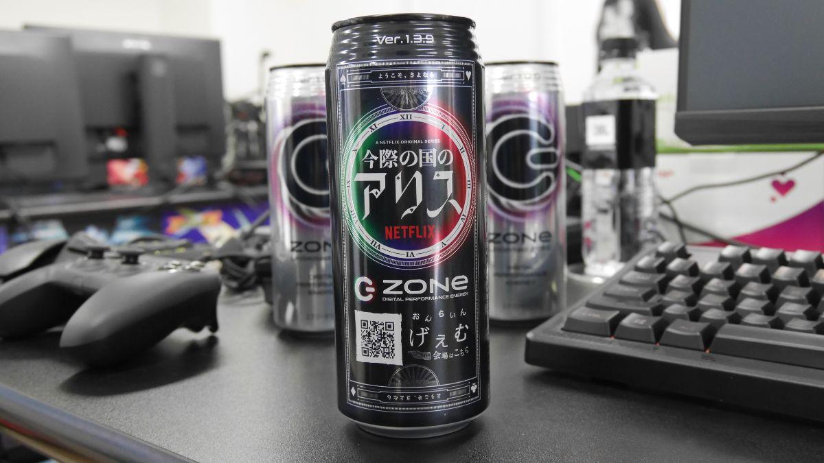 ZONe Ver.1.3.9 Netflixコラボ缶