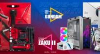 ASUS「機動戦士ガンダム」コラボモデルの日本国内で限定発売!シャアのルーターは3倍早そうに感じる!