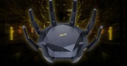 丸いボディを8本のアンテナが囲う独特なデザインのWi-Fi 6無線ルーターASUS「RT-AX89X」発表!