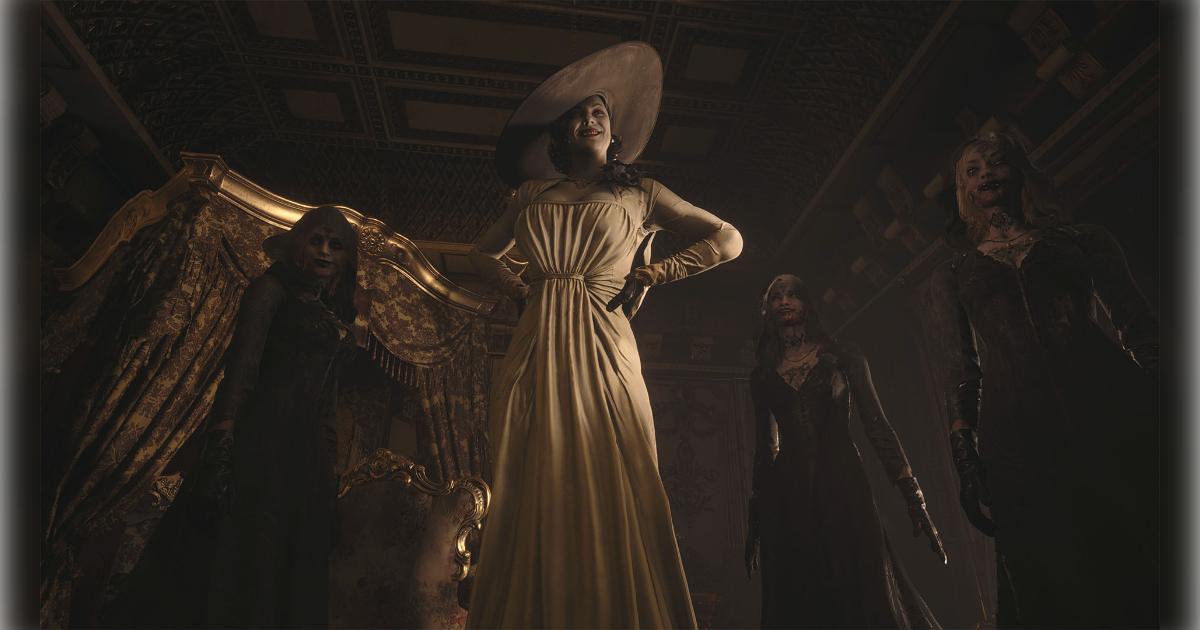 城主ドミトレスクと3人の娘たち