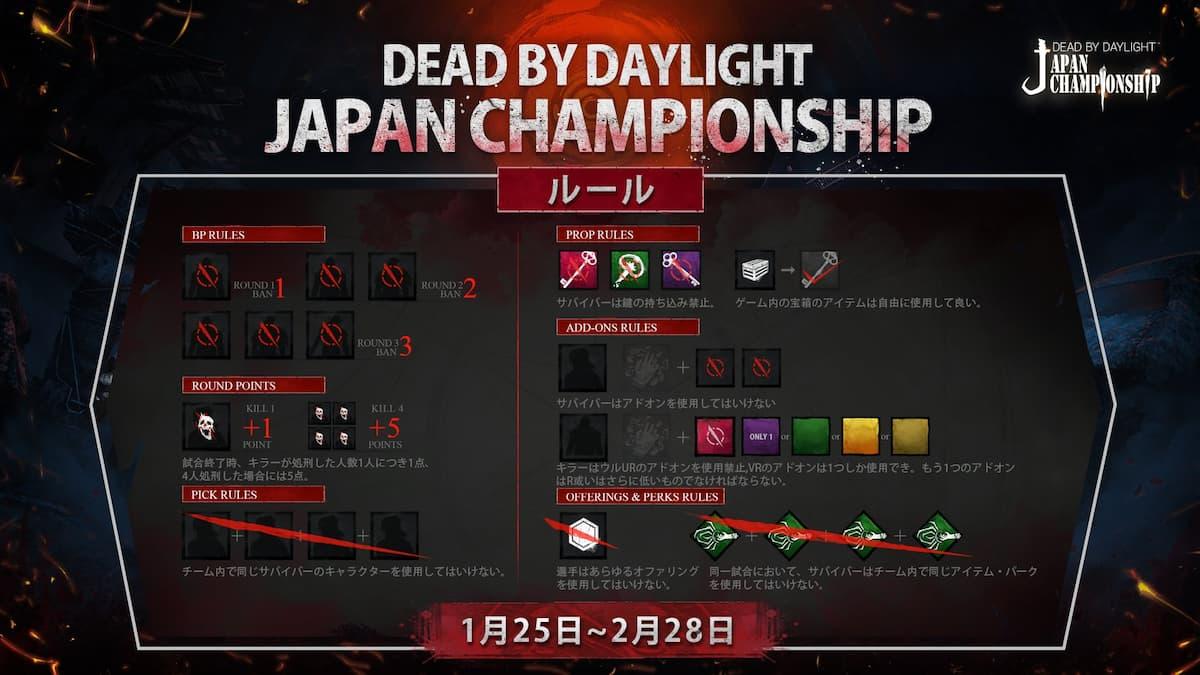 Dead by Daylight Japan Championship