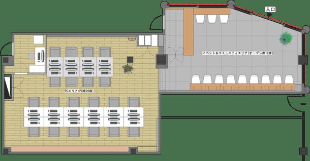 Jexer 電競館 平面藍圖