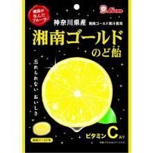 ライオン菓子 湘南ゴールドのど飴 72g ×6袋
