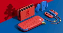 本体の色の違う初のモデル!「Nintendo Switch マリオレッド×ブルー セット」発売決定!