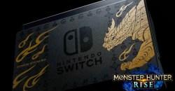「Nintendo Switch モンスターハンターライズ スペシャルエディション」発売決定!同様のデザインのプロコンも登場!