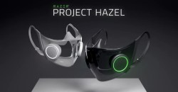 光るだけじゃもう古い!Razerがアンプ内臓のゲーミングスマートマスク「PROJECT HAZEL」を発表!