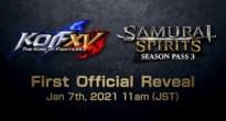 SNK最新作KOF XVとサムスピのシーズンパス3の発表が急遽延期