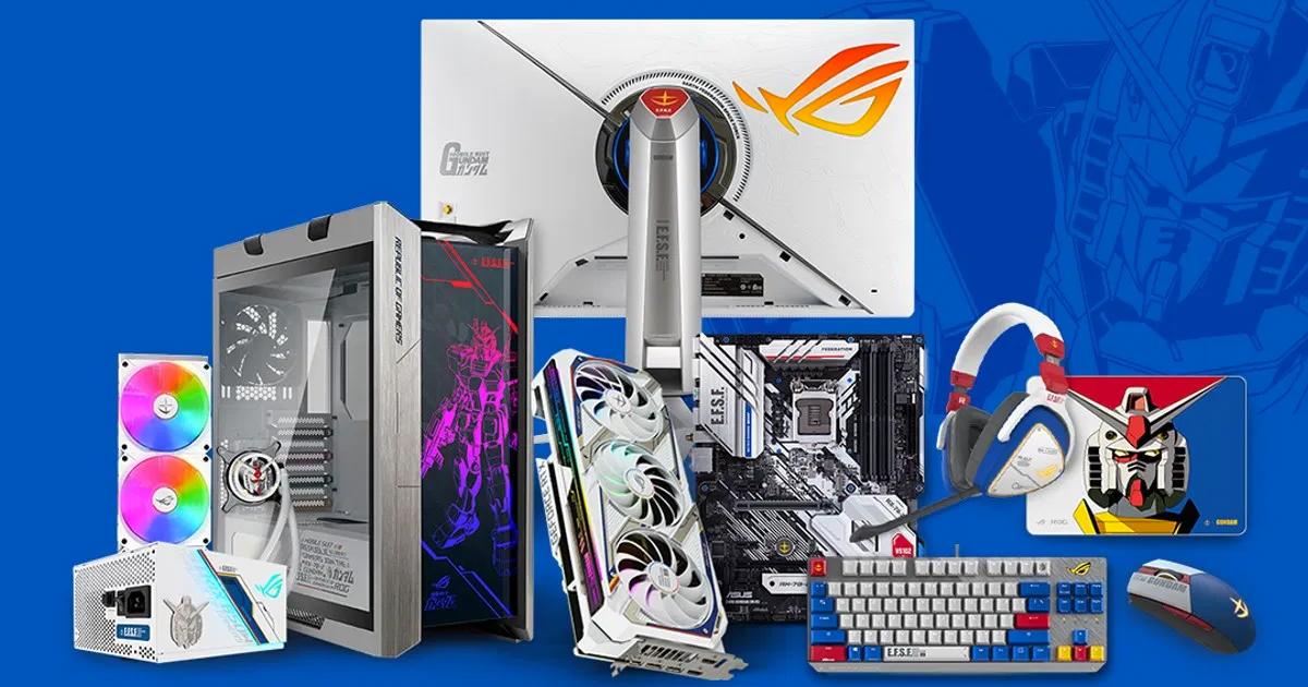 「ASUS」×「機動戦士ガンダム」コラボ製品から6アイテムの発売日が決定!