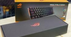 【開箱】有線、無線雙對應,華碩小巧電競鍵盤 ASUS「ROG Falchion」!