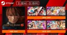 70%OFF!DOA6「生死格鬥6」於Steam進行折扣販售中!至2月15日(一)為止!
