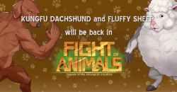 Fight of Animalsにカンフーダックスフンド&ふわふわ羊が参戦決定!