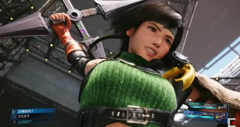 ユフィ登場!新規エピソード追加のPS5版「FINAL FANTASY VII REMAKE INTERGRADE」が6月10日に発売決定!
