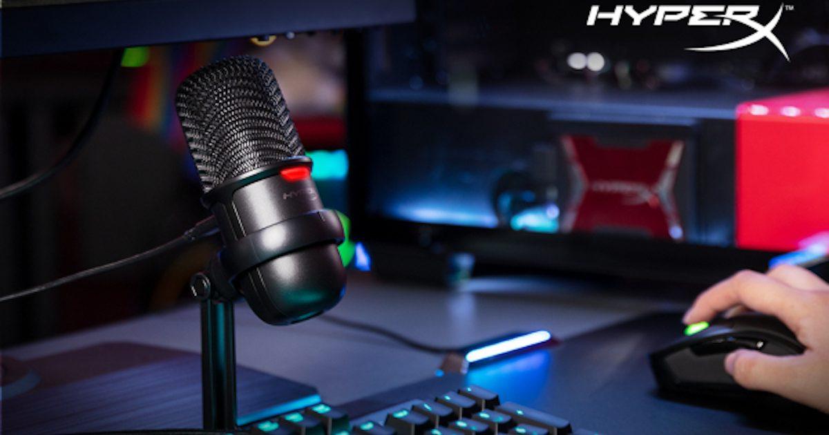 HyperX將於日本發售「SoloCast USB麥克風」!預購抽籤登記活動開始