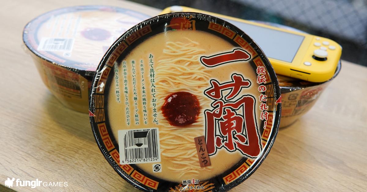 玩家絕不可錯過!知名人氣拉麵店「一蘭」推出泡麵,「一蘭 豚骨」開箱試吃!