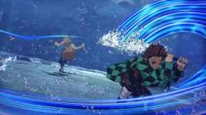 """""""恶魔杀手之刃火神血风谭""""展示了Tanjiro和Nidouzi的最新开发预告片和战斗场景!  -真菌游戏"""