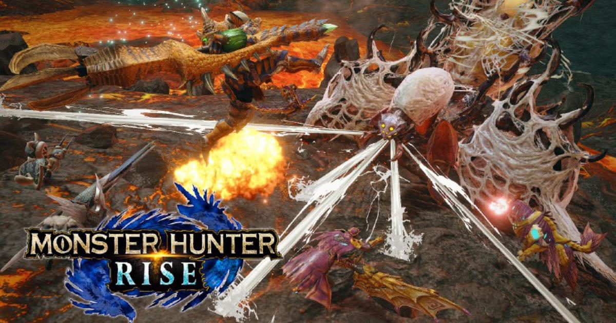《MONSTER HUNTER RISE》公開原野與魔物等新情報!