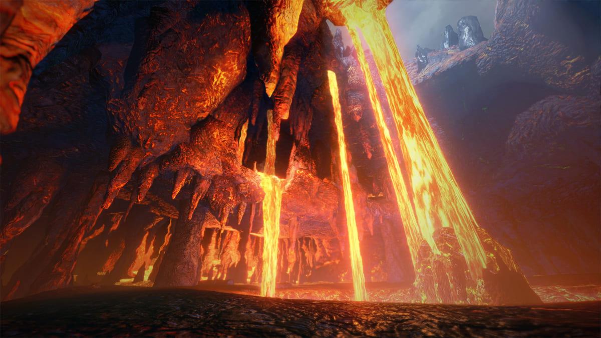 新原野「溶岩洞」