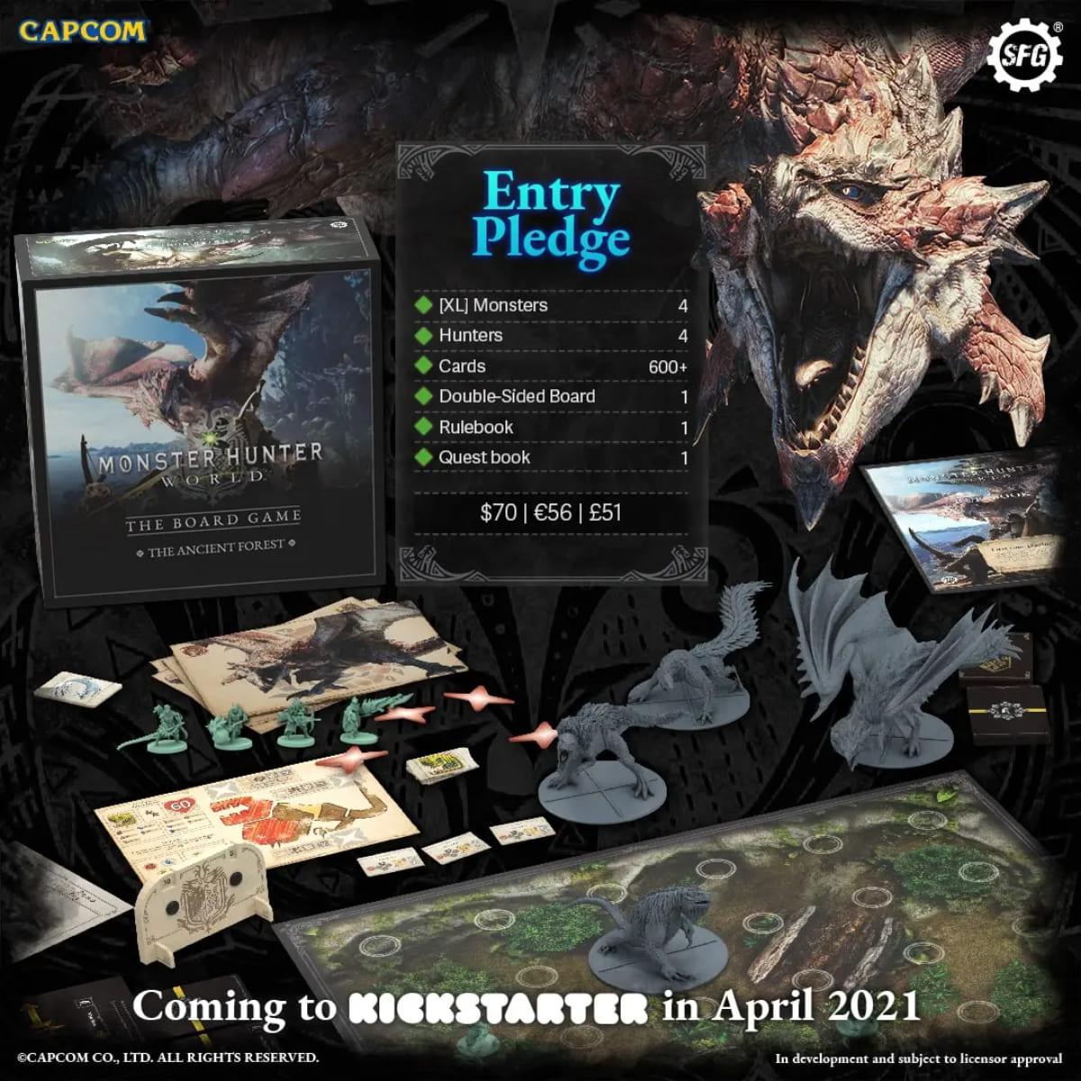 魔物獵人 世界: The Board Game
