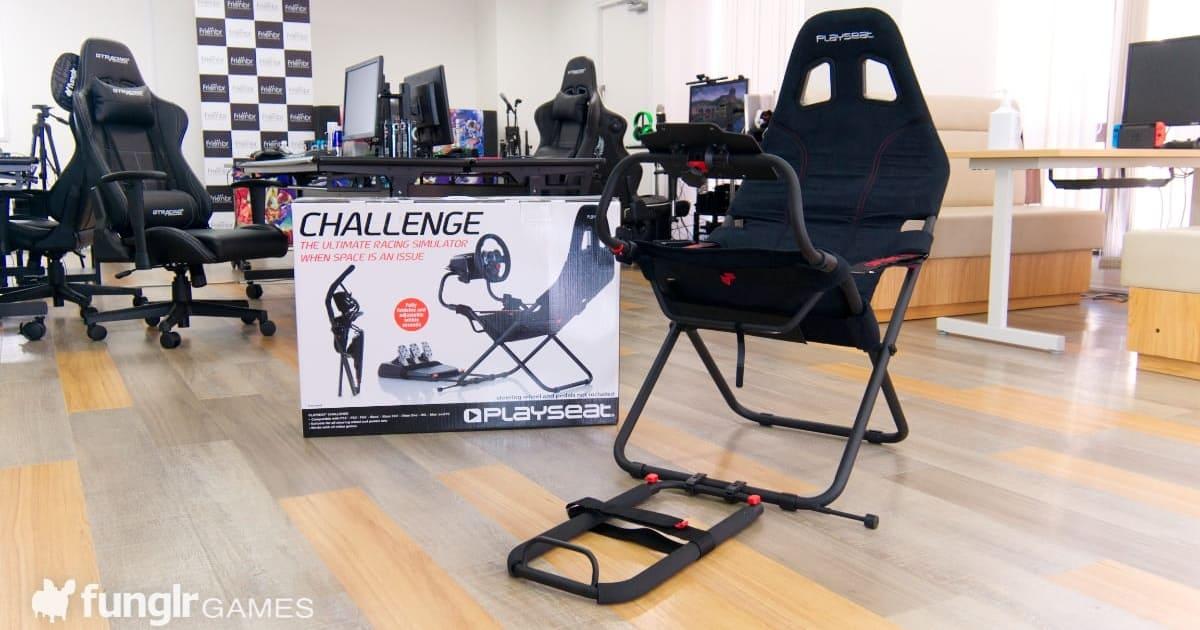 入手賽車遊戲駕駛座的門檻太高了嗎?你需要的是「Playseat Challenge」!