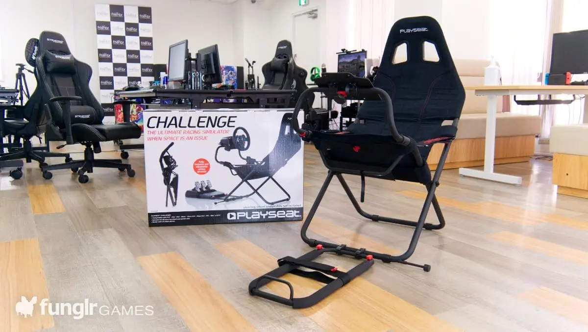 Playseat Challenge 開箱組裝