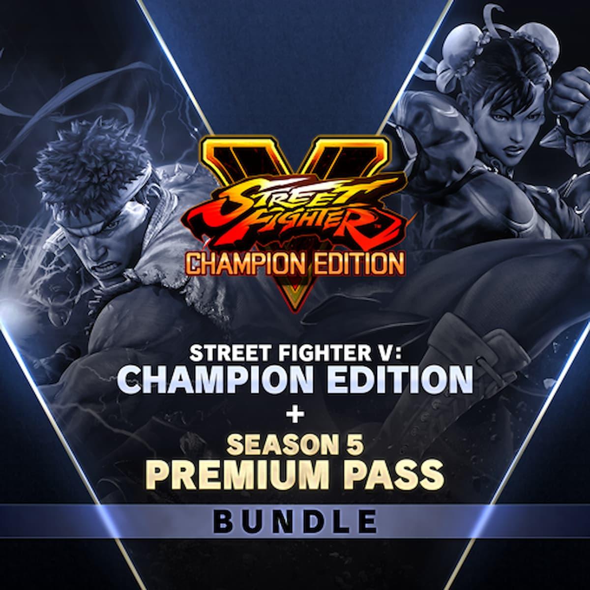 STREET FIGHTER V - チャンピオンエディション + シーズン 5 プレミアムパス バンドル