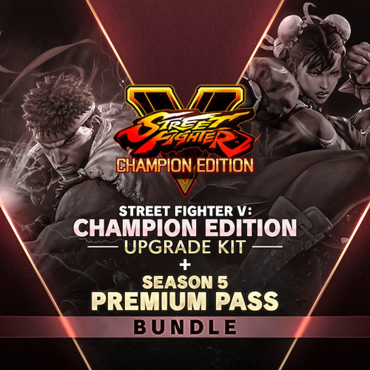 STREET FIGHTER V - チャンピオンエディション アップグレードキット + シーズン 5 プレミアムパス バンドル