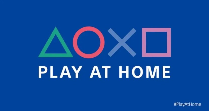 PlayStationが「Play At Home」イニシアチブ第2弾を発表!無料でゲームを配布!