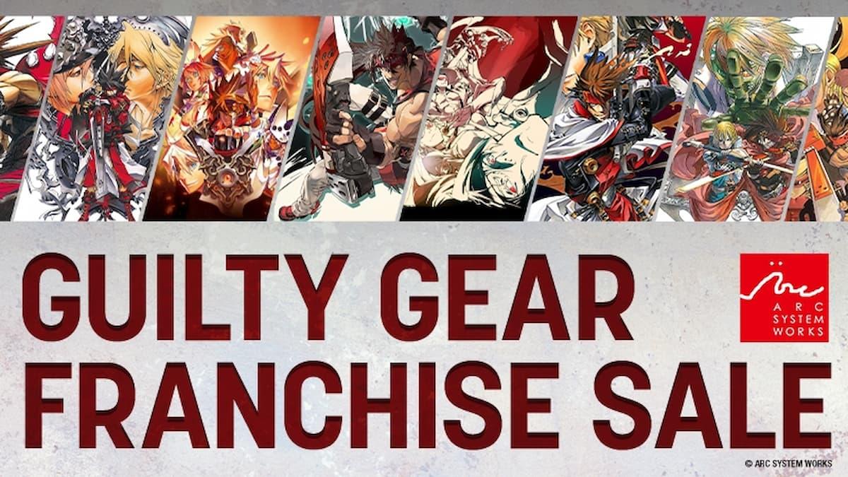 Steam版GGST予約開始記念!最大90%オフの「GUILTY GEAR フランチャイズセール」開催!