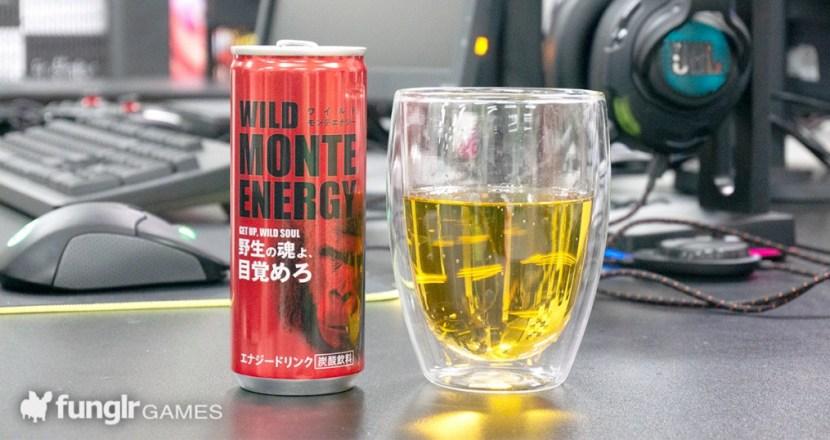 モンテローザのエナドリ「ワイルドモンテエナジー」がつよつよすぎる!