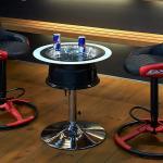 讓休息時也能有極致的舒適感。DXRACER發表「吧台椅 for e-Sports CB-01RD」!