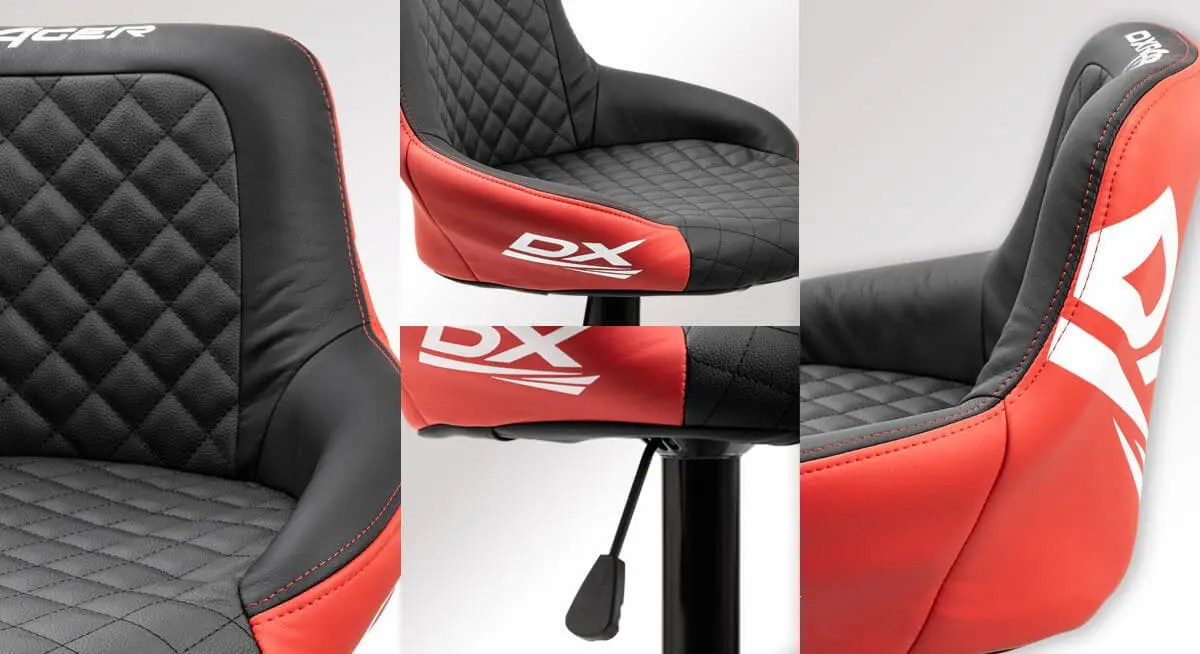 DXRACER「バーカウンターチェア for e-Sports CB-01RD」
