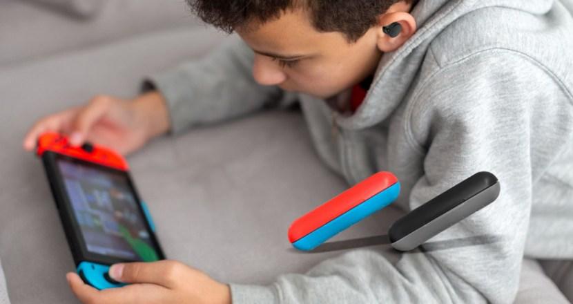 ワイヤレスイヤホンがNintendo Switchで使える!Bluetoothトランスミッター「FG-NSWITCH-BT1」登場!