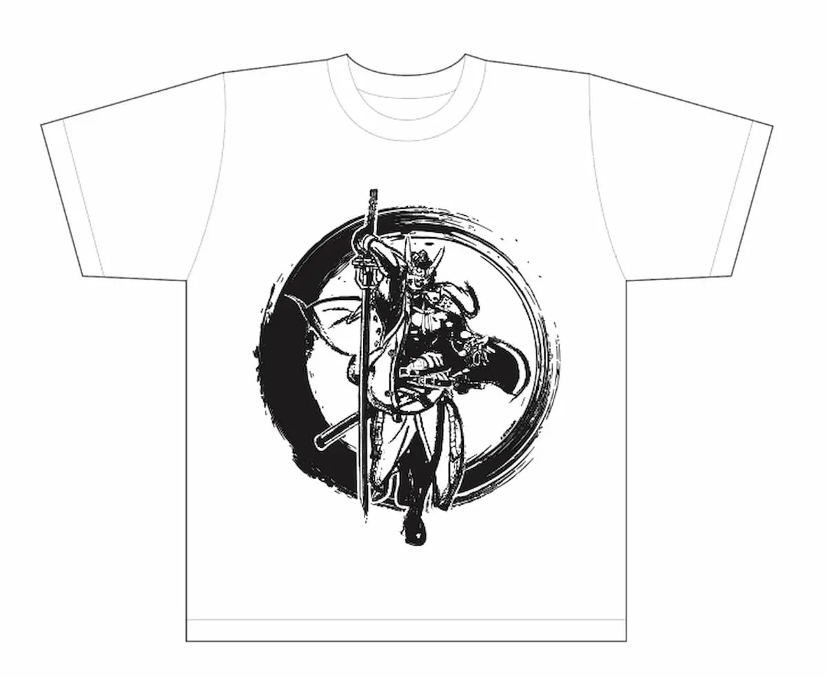 GUILTY GEAR -STRIVE- 墨絵風Tシャツ「名残雪」