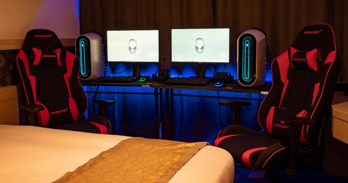宿泊できる「eスポーツルーム」が大阪に!「ホテル京阪  淀屋橋」にeスポーツ特化の客室が誕生!