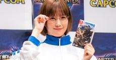 本田翼身穿體育服&眼鏡於「狩獵解禁前!MONSTER HUNTER RISE 線上直播會」登場!