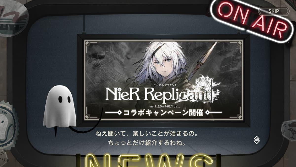 「NieR Replicant ver.1.22」聯名