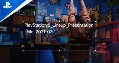 備受期待的遊戲陣容強勢襲來!官方公開「PlayStation5_Lineup_Presentation_File_2021-03」!
