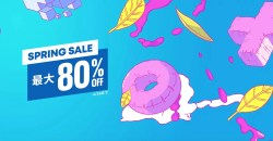 新年度はPS三昧!PlayStation Storeで最大80%オフの「Spring Sale」開催!
