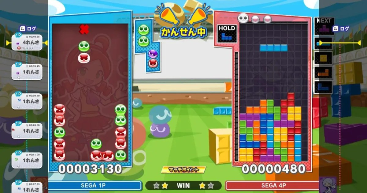 PS4/PS5間のマルチプレイにも対応!「ぷよテト2」の無料アップデート第3弾 配信開始!