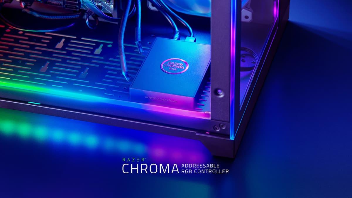 複数デバイスのライティングを完璧に制御!「Razer Chroma Addressable RGB Controller」発表!