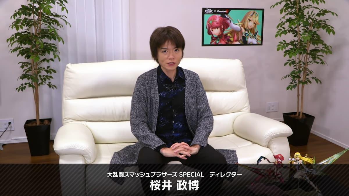 スマブラSPディレクターの桜井政博さん