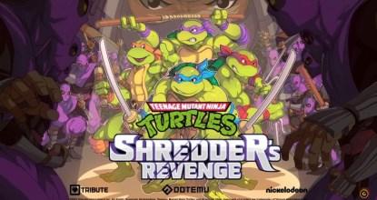 カワバンガ!「Teenage Mutant Ninja Turtles: Shredder's Revenge」発表!懐かしのベルトスクロールアクション!