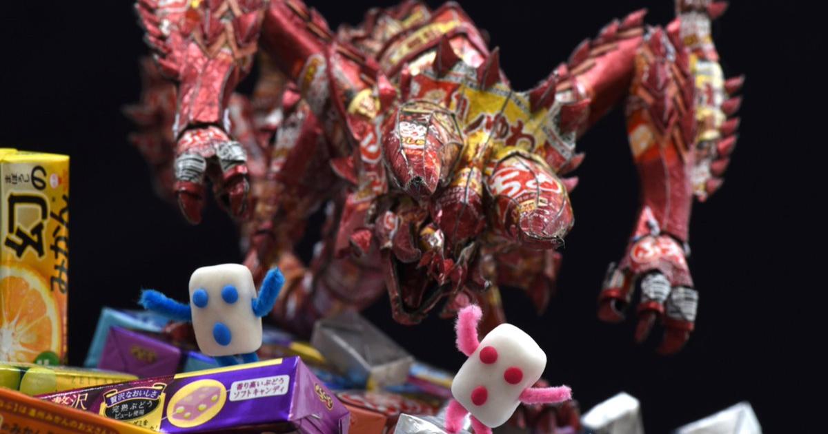 UHA味覚糖で作るディアブロス!?「映画モンスターハンター」とのコラボキャンペーン実施中!