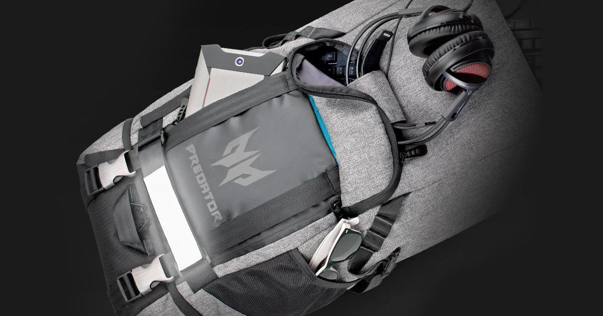 從Acer的電競品牌「Predator」中所誕生之電競背包登場!