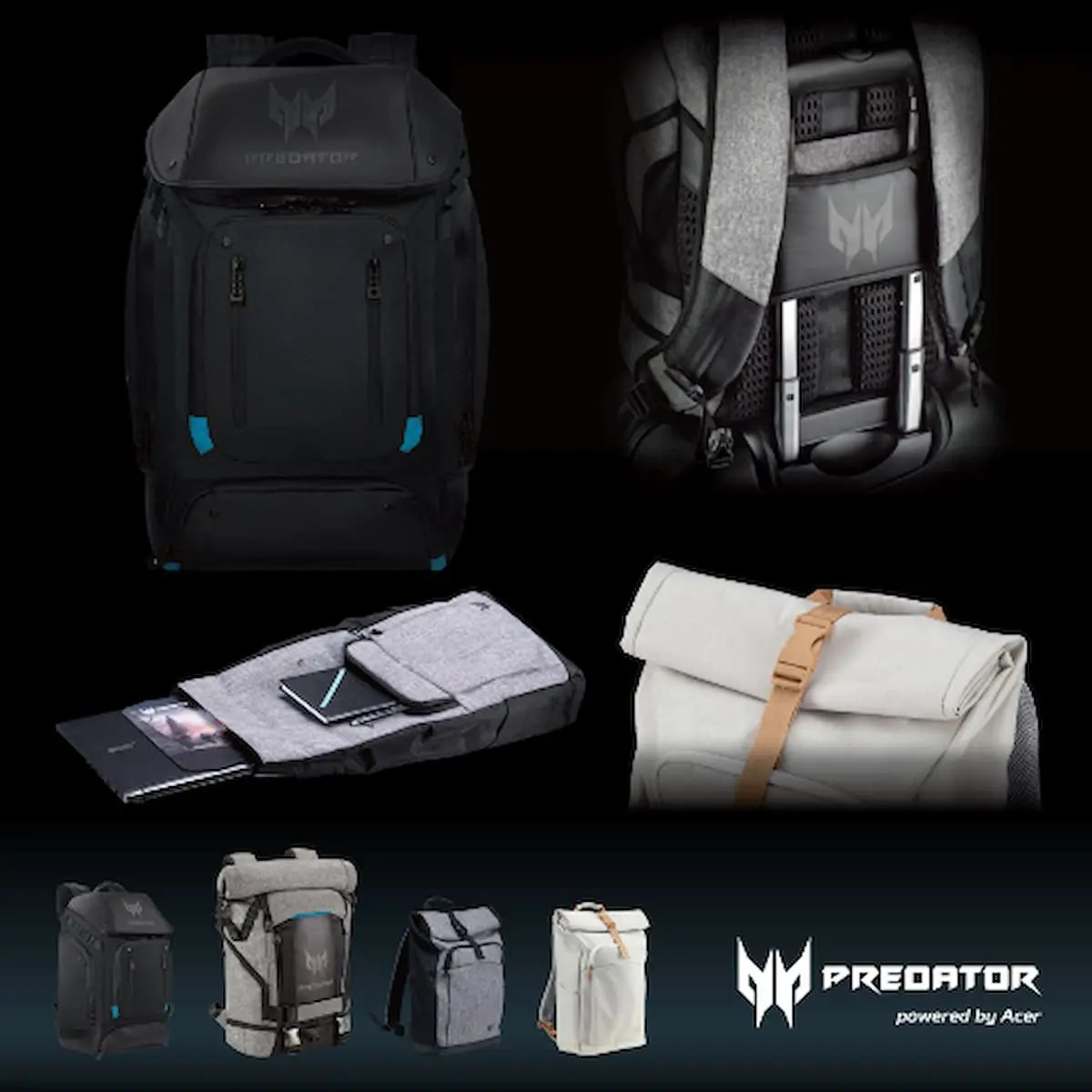 Acer「Predator」ゲーミングバックパック新商品