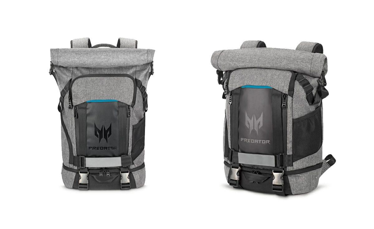 Predator Gaming Rolltop Backpack