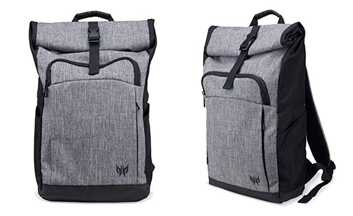 Predator Gaming Rolltop Backpack(ブラック/グレー)