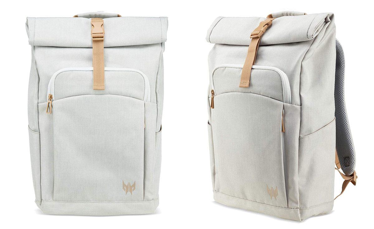 Predator Gaming Rolltop Backpack(スノーホワイト)